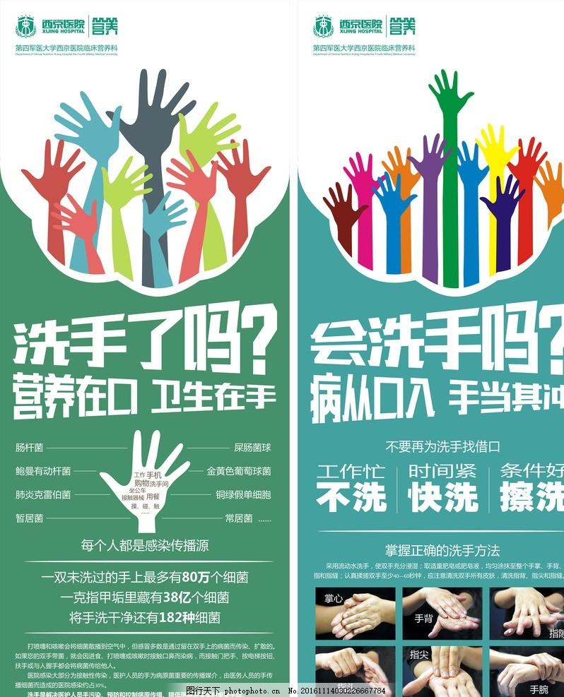 医院洗手卫生宣传 手卫生 洗手步骤 洗手 洗手六步 医院洗手宣传 你会
