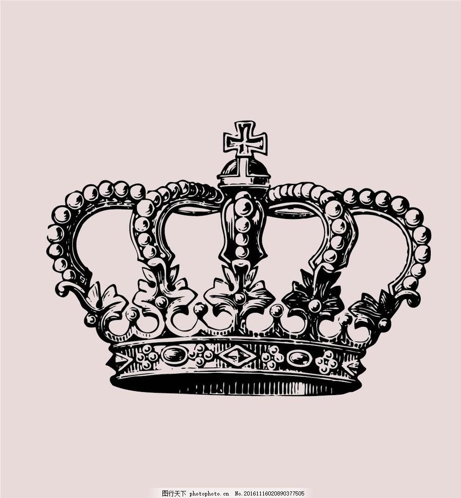 皇冠 欧式 数码印花 时尚 英伦风情 北欧简约 抱枕 纺织品 图案 设计