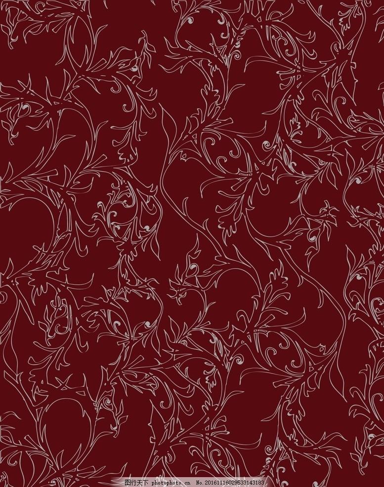 墙纸花纹 墙纸 欧式墙纸 花纹 背景 红色 精美花纹底图 喜庆 紫色