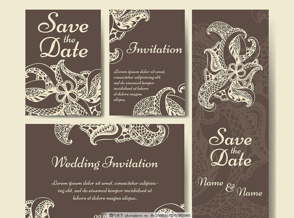 花藤 花纹 花条 藤条 婚礼logo 婚庆素材 欧式边框 欧式花纹 简约请柬
