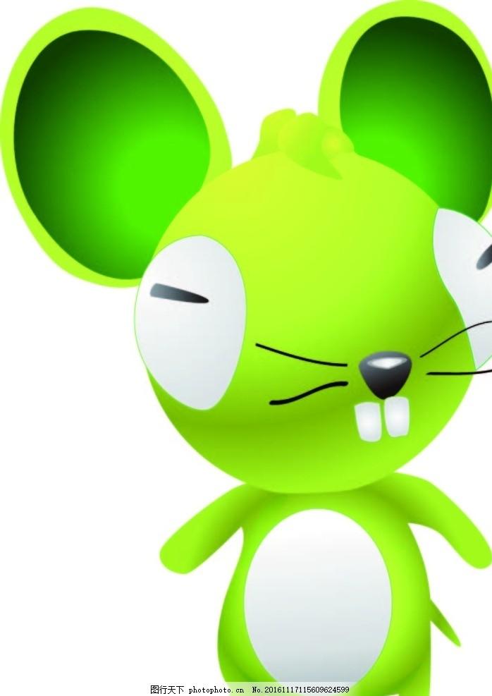 小老鼠 创意图案 卡通背景 抽象动物 小鱼 水草 卡通动物 趣味背景