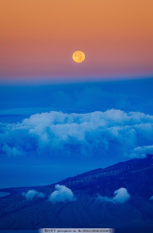 照片_云海 太阳 白云 云层 云朵 夕阳 彩霞 晚霞 风景 渐变 照片素材