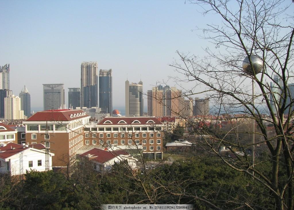 青岛湛山风景