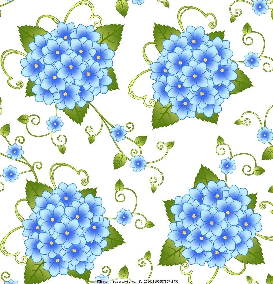 田园风 壁纸 藤条 撇丝花 平块花 手绘花 藤条花壁纸 花边花纹 底纹