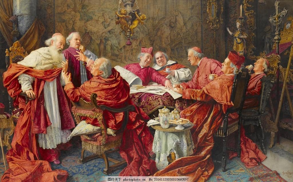 [转载]世界著名油画中宫廷贵族们色彩斑斓的生活画面