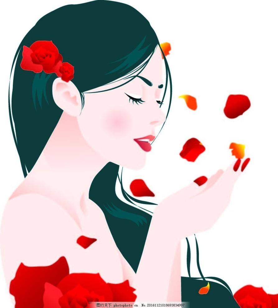 韩国时尚美女 韩国美女 时尚美女 瘦身美女 美女 手绘美女 苗条女