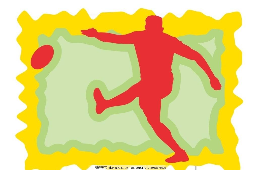 体育运动 休闲运动 插画 装饰画 简笔画 线条 线描 简画 黑白画 卡通