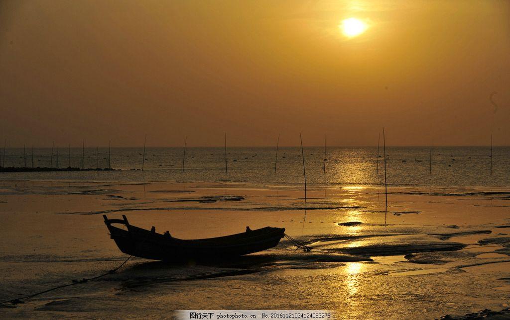 杭州湾 海涂 杭州湾落日 杭州湾夕阳 杭州湾 摄影 自然景观 自然风景