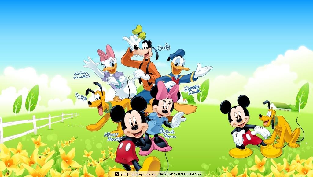 米奇壁纸 迪士尼卡通 米老鼠 卡通壁纸 迪士尼 米老鼠背景 米老鼠模板