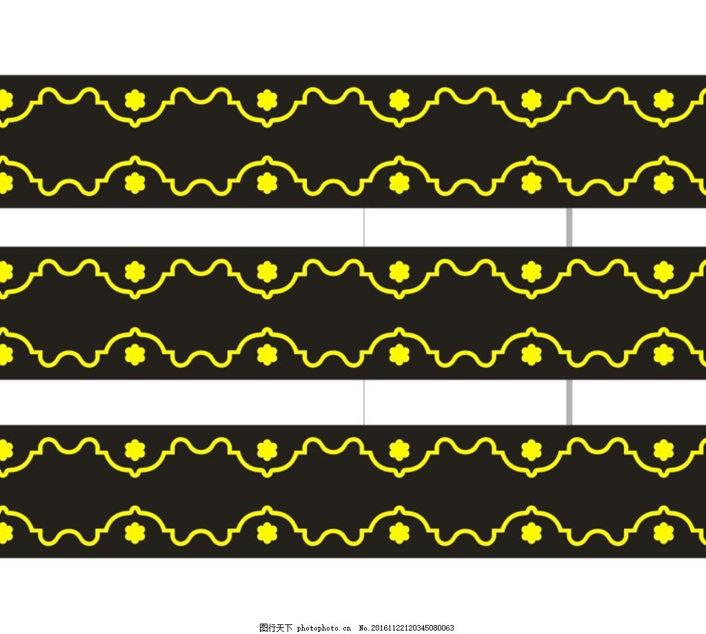 花边 柱子花 柱花 角花 ktv背景墙 欧式花边 欧式边框 欧式花纹 矢量