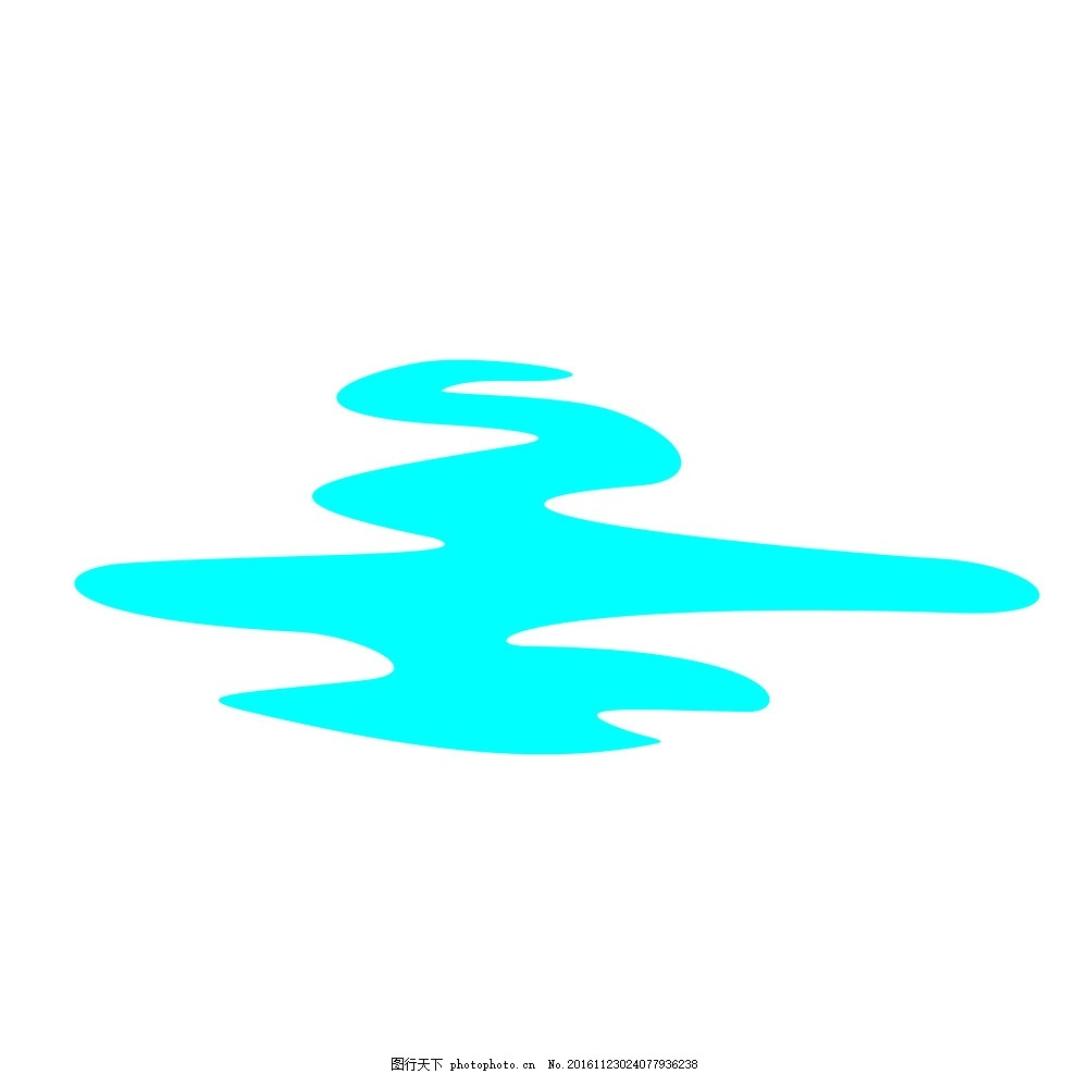 体现河流logo设计
