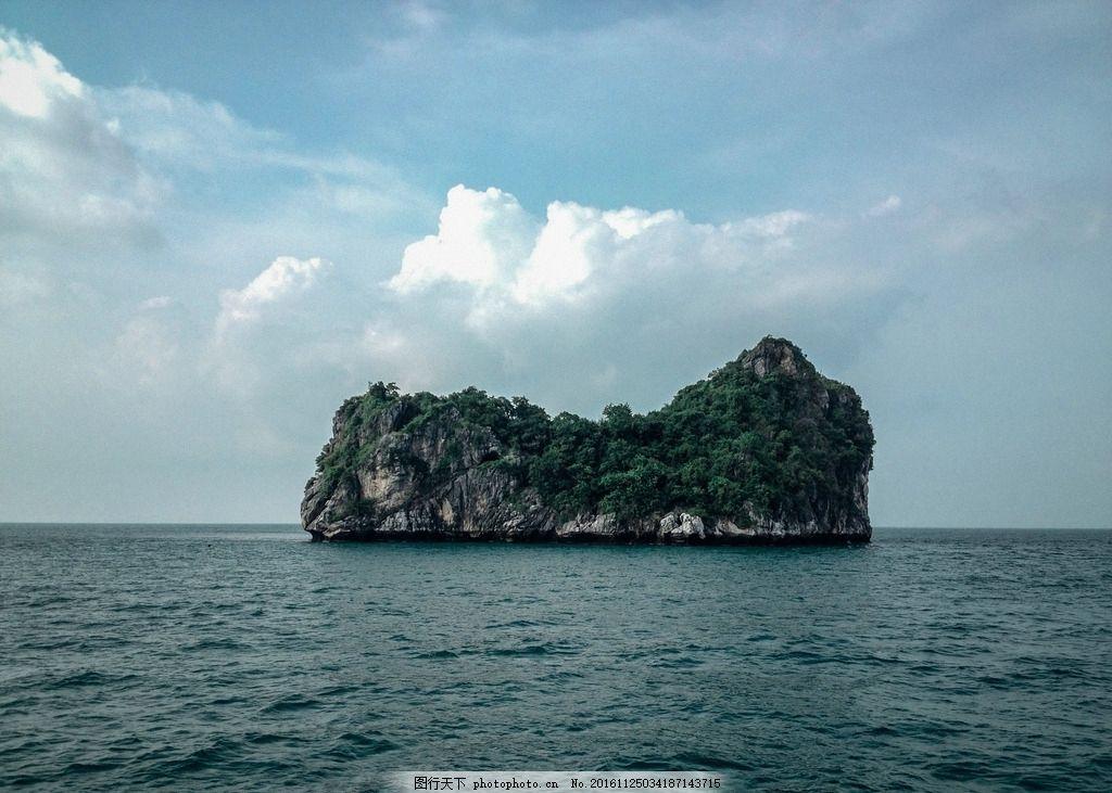 海洋岛的岩石