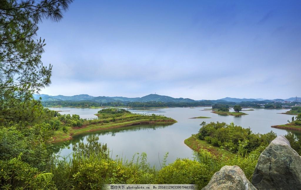 湿地 生态湿地 水库 洲际酒店 度假酒店 星级酒店 黑龙滩 长岛天堂