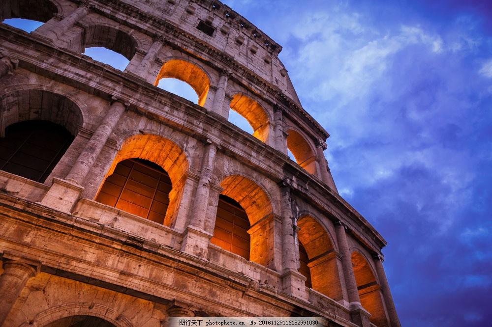 罗马建筑风景图片