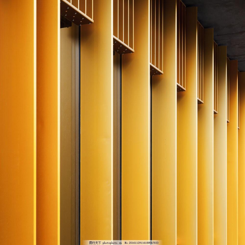 橙色格子背景图片