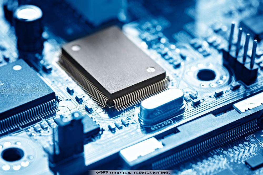 电脑cpu图片素材 电脑芯片 cpu 中央处理器 电脑零件 电脑主板 通讯网