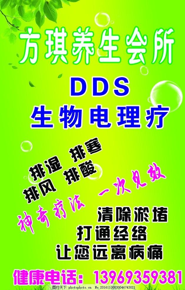 生物电理疗 dds 美容 美体 海报 展架 展板 设计 广告设计 海报设计