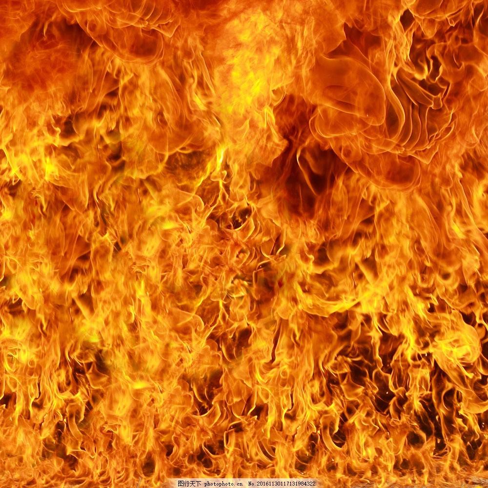 熊熊大火背景图片