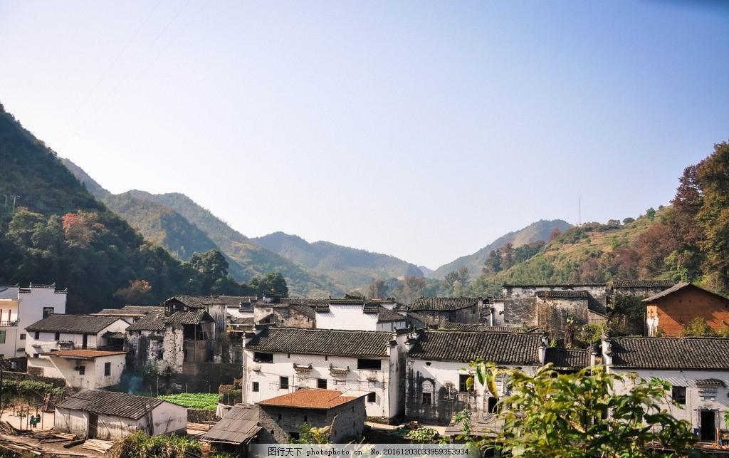 老房子 农村 最美乡村 婺源 树木 景色 旅游 山水 天空 美丽村子 乡村