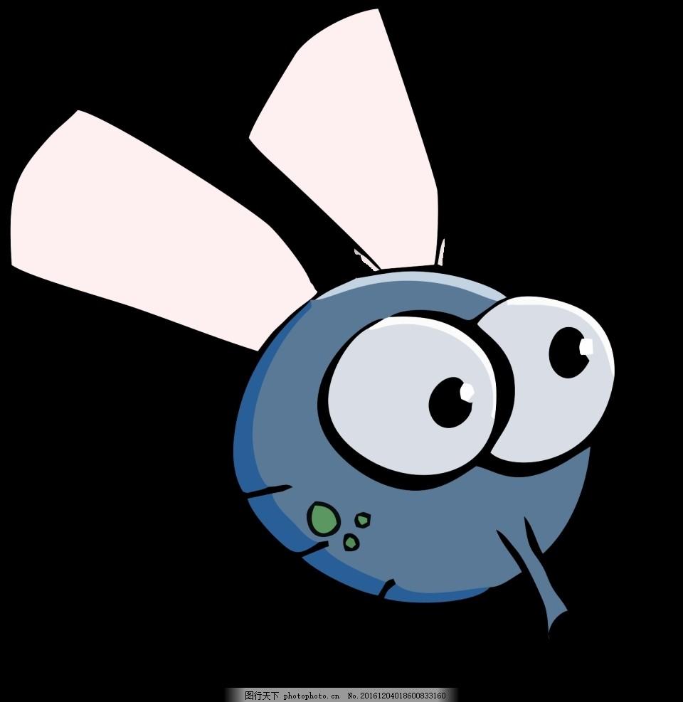卡通 蚊子 蚊蝇 苍蝇 动物 矢量 眼睛 飞虫 2015素材 设计 动漫动画