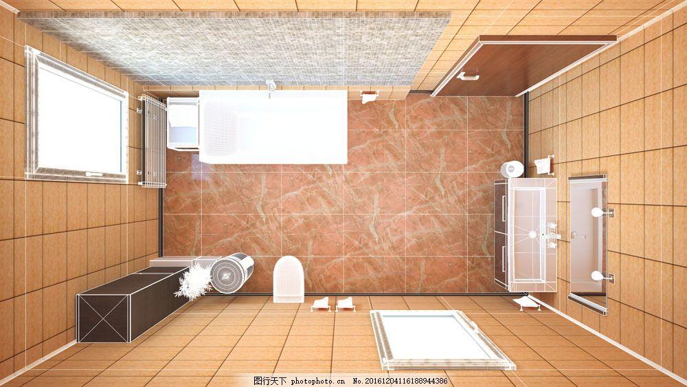 俯视图 室内设计 设计图        室内设计 环境家居 室内设计