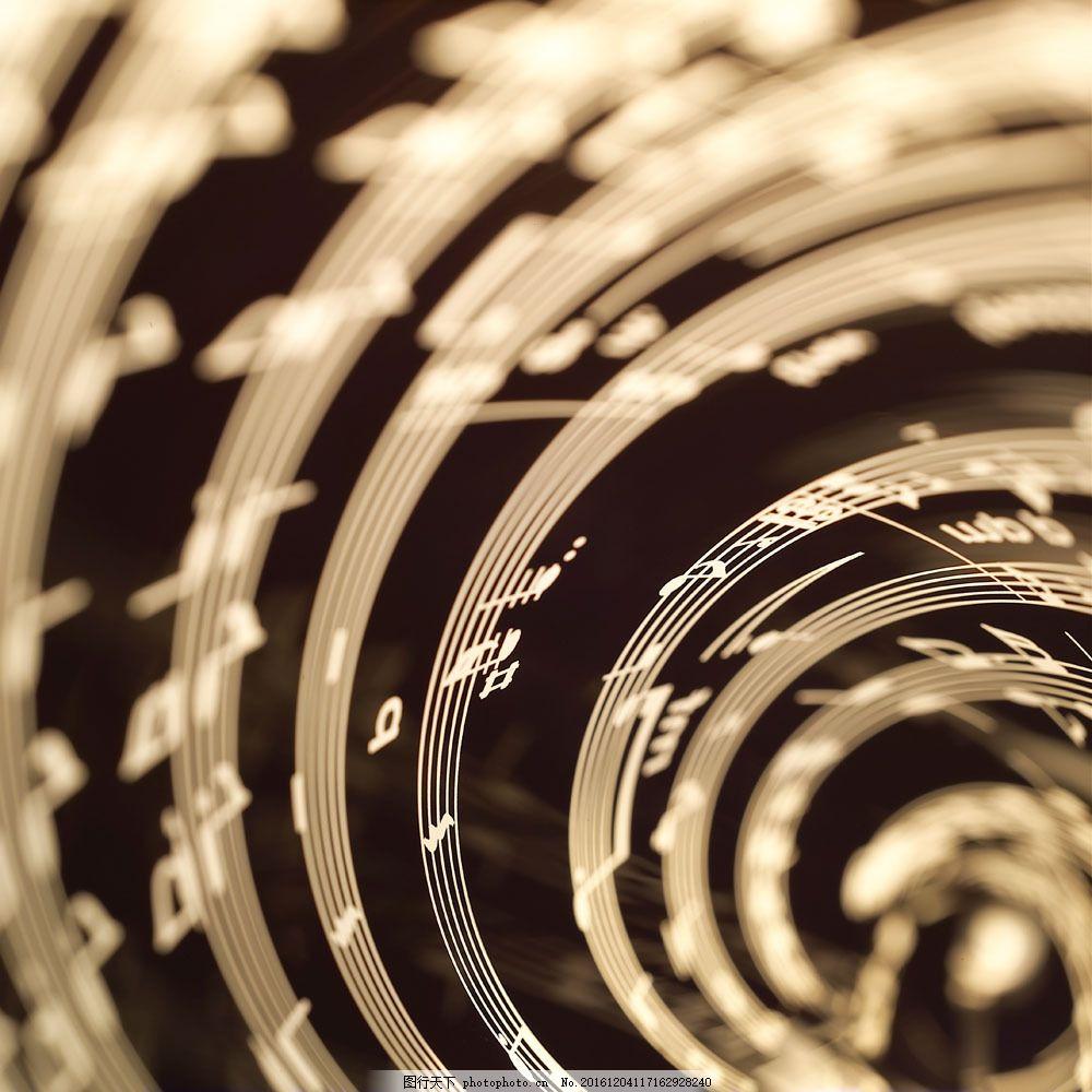 五线谱创意抽象图片