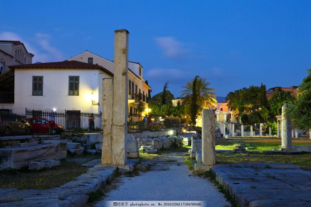 美麗雅典風光圖片素材 雅典風景 希臘風光 旅游景點 美麗風景 雅典