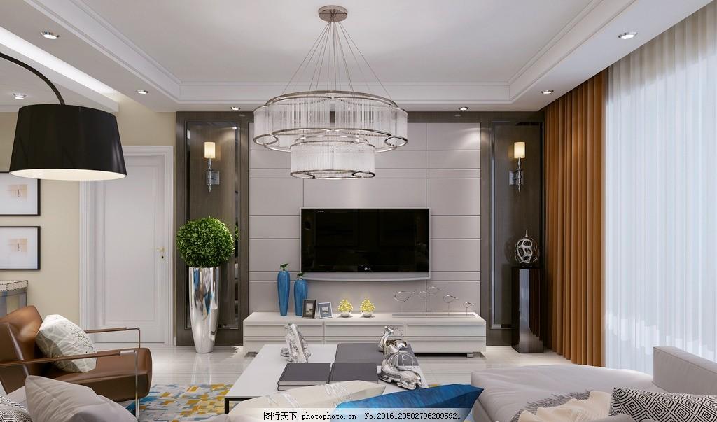港式装修风格客厅电视背景墙 效果图 港式风格 港式风格客厅 客厅效果