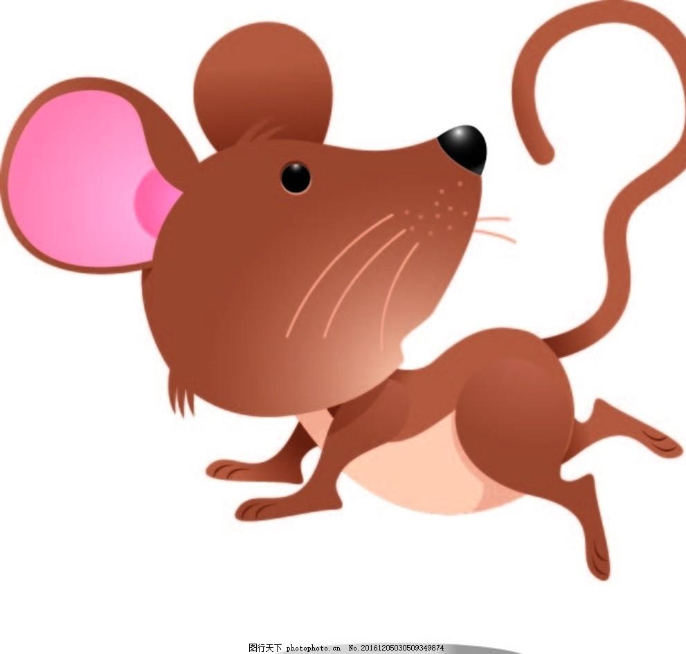 老鼠 幼儿园素材 背景墙 卡通动物 矢量素材 卡通画 漫画