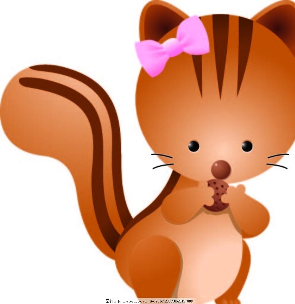 小猫咪 幼儿园素材 背景墙 卡通动物 矢量素材 动物 卡通画 漫画 设计
