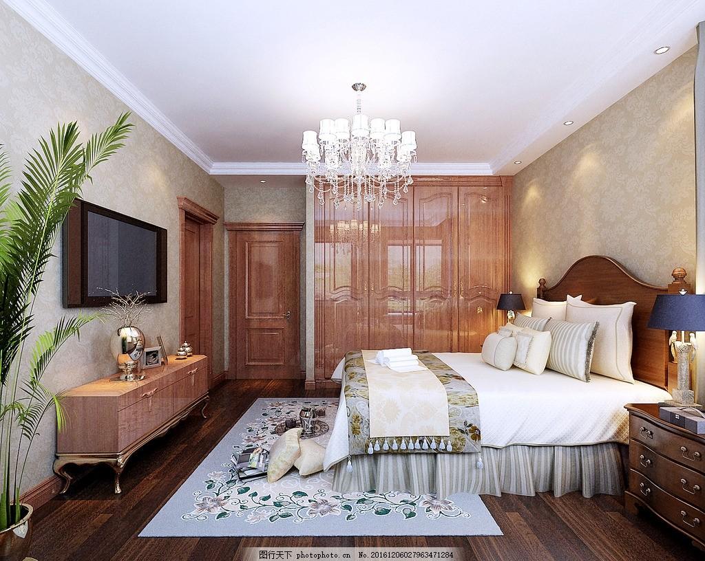 主卧室效果图 室内设计 主卧        装饰 装修 家装 室内设计效果图