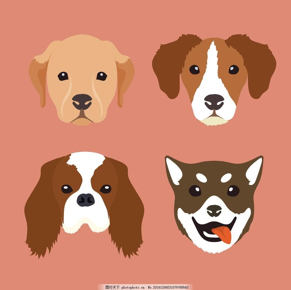 头像 狗 自然 动物 丛林 动物园 包 野生 野生动物 画报 品种 设计
