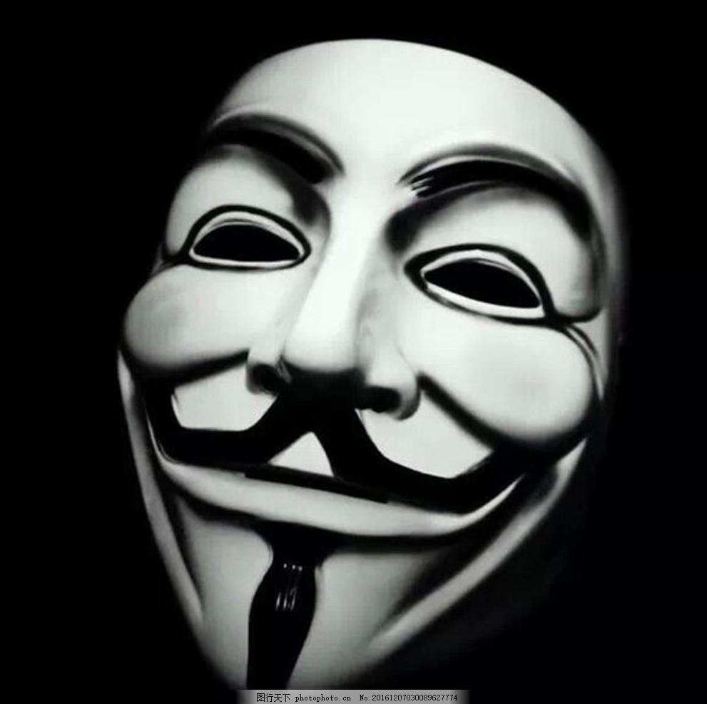 小丑面具 面具 小丑 节日 黑白 电影 设计 广告设计 海报设计 72dpi