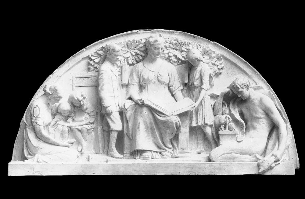 半圆装饰浮雕图片素材 半圆装饰浮雕 欧式建筑 建筑物 古典建筑 浮雕