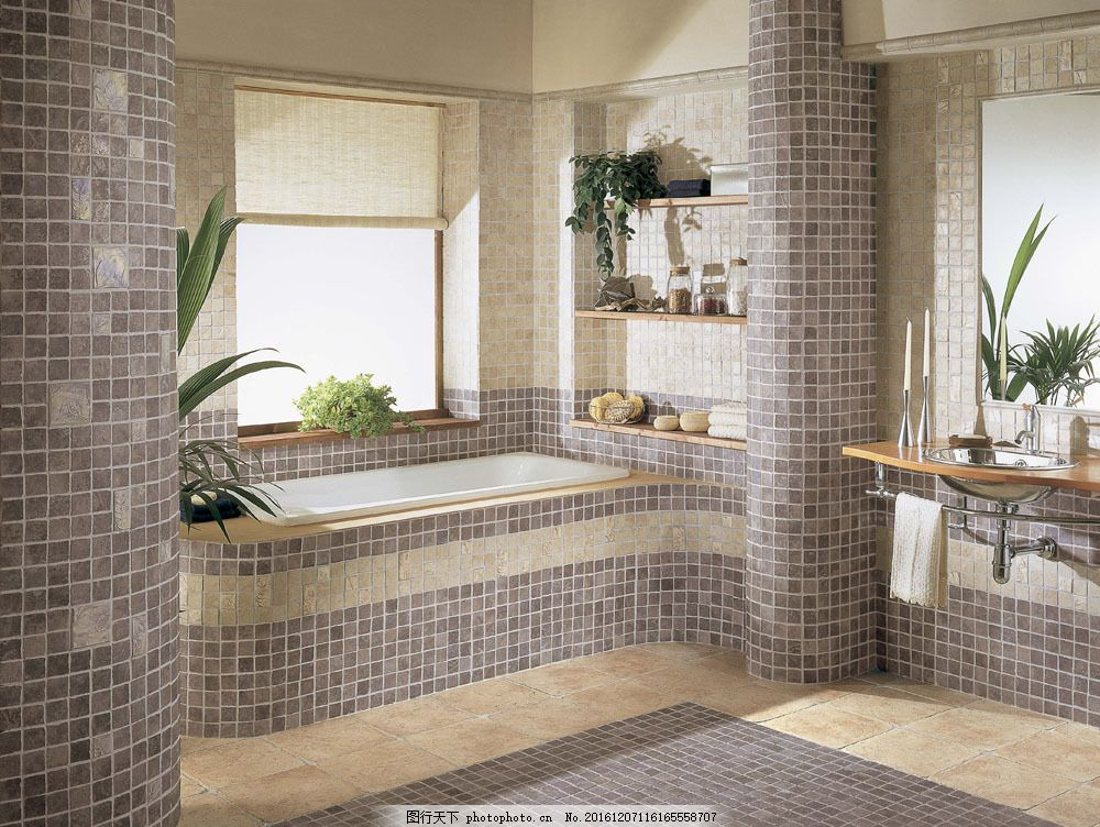 洗手间装修效果图片