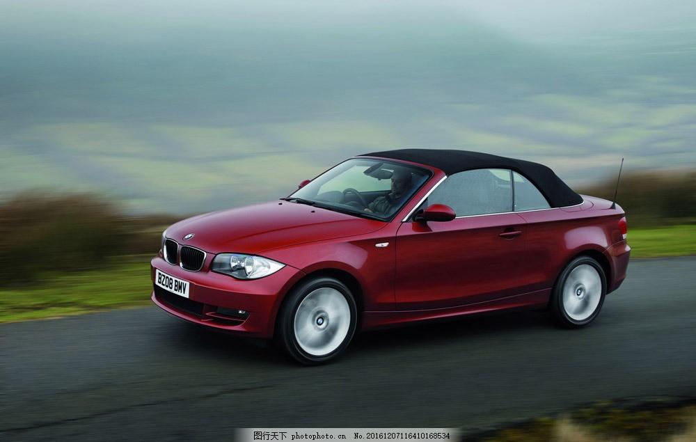 红色宝马汽车图片素材 汽车 汽车摄影 汽车素材 时尚汽车 名车 高档