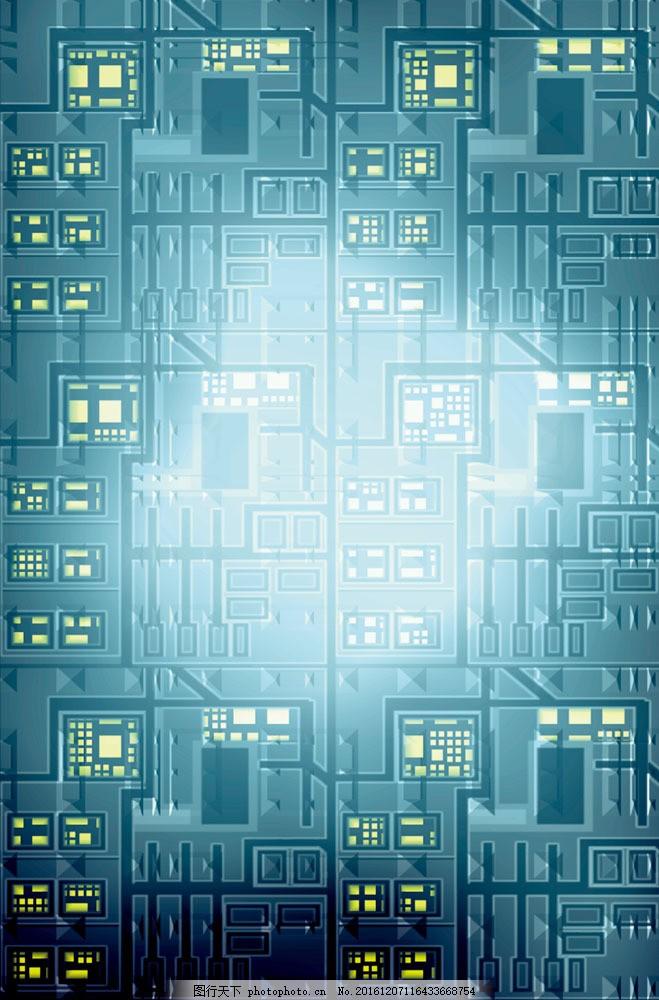 电路图图片素材 科学研究 电板 电路图 科技图片 现代科技 图片素材