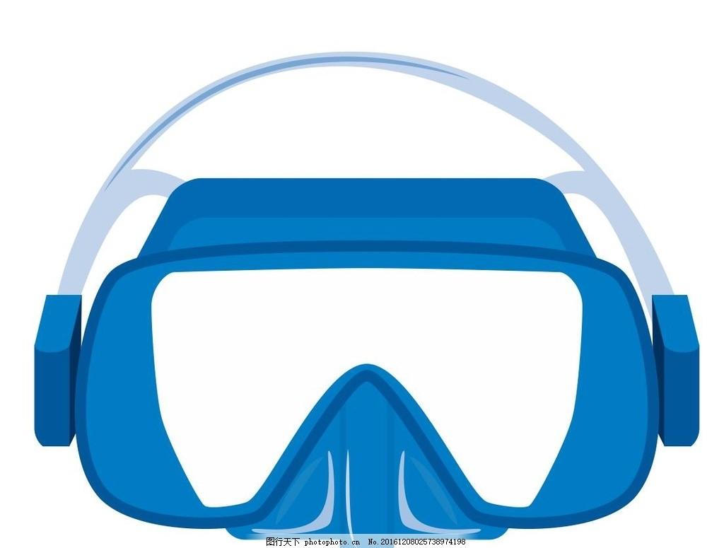 防护帽 防护眼镜 安全帽 插画 装饰画 简笔画 线条 线描 简画 黑白画