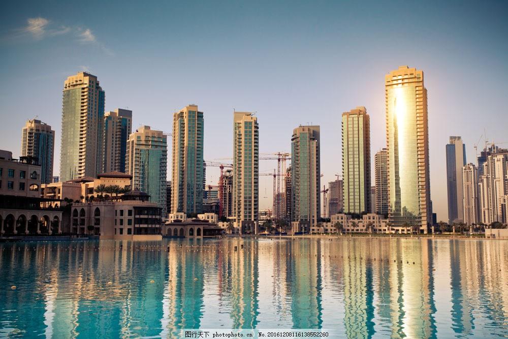 海边林立的高楼大厦图片素材 海边 林立 高楼大厦 风景 城市风光 环境