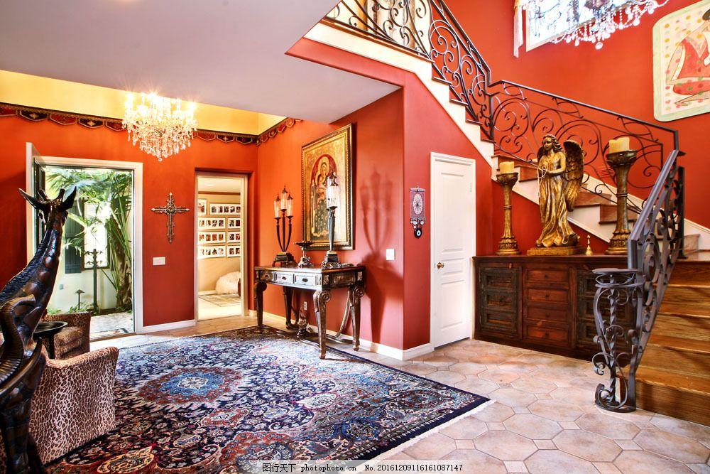 欧式复古室内装饰图片