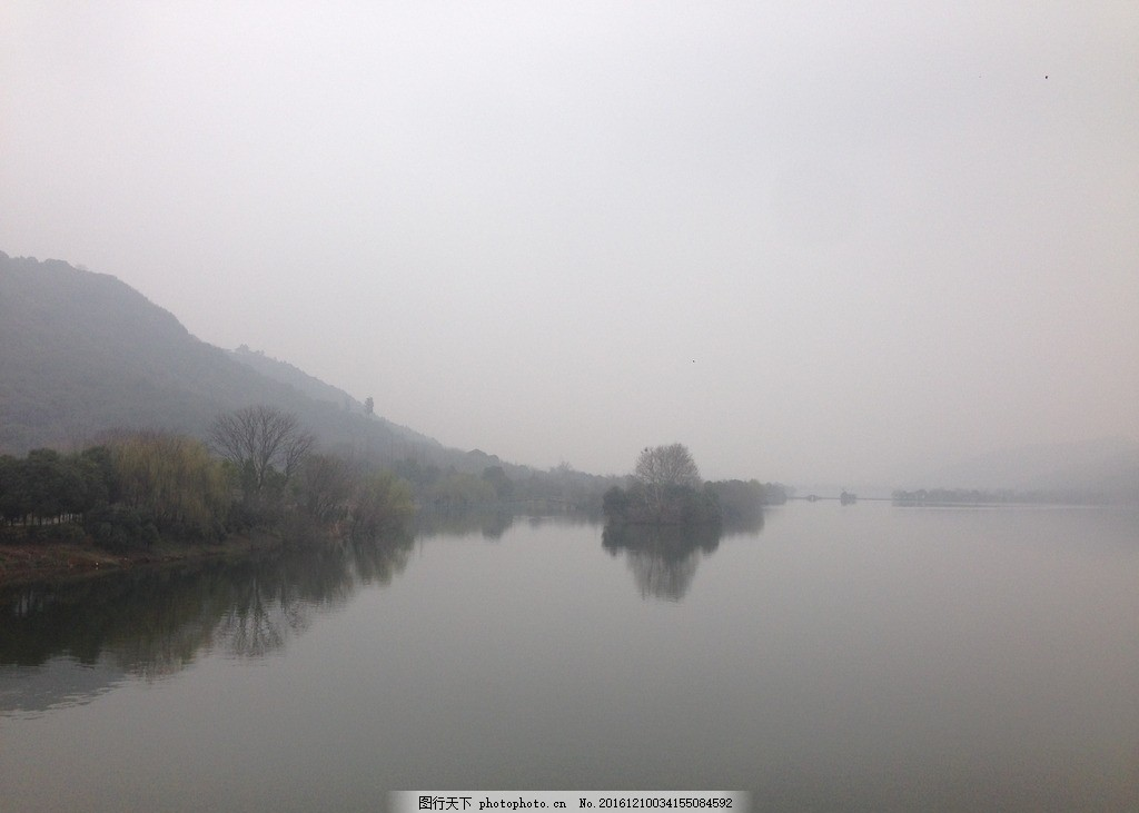 湘湖 树 杭州 山间风景 湖水 自然风光 摄影 自然景观 自然风景 72dpi