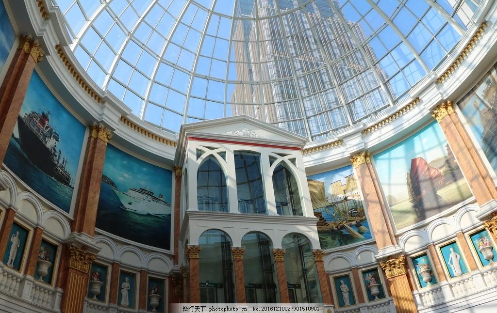 环球港 上海 欧式建筑 摄影 室内装潢 穹顶 现代建筑 室内摄影