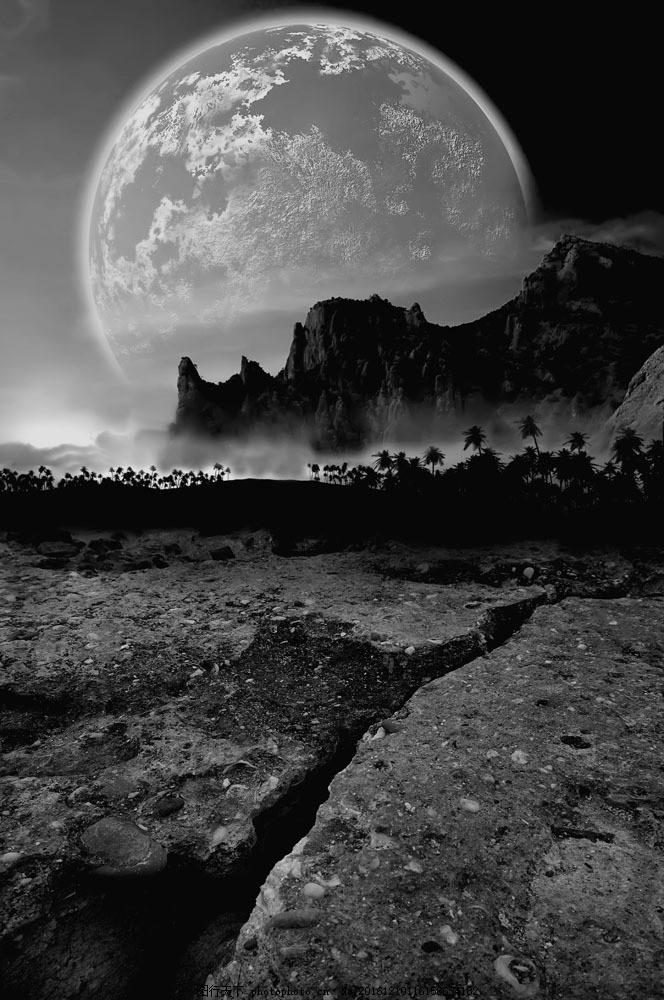 梦幻太空风景图片素材 梦幻太空风景 唯美风景 外星球 外太空 宇宙