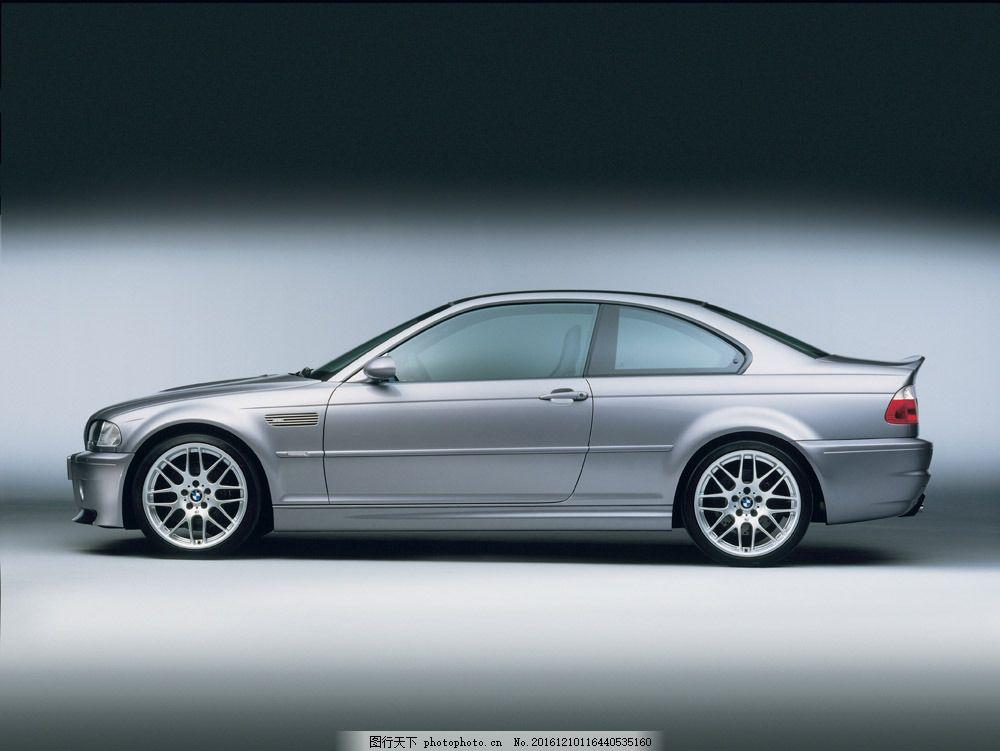 银色轿车侧面 银色轿车侧面图片素材 汽车 工业生产 小车 交通工具