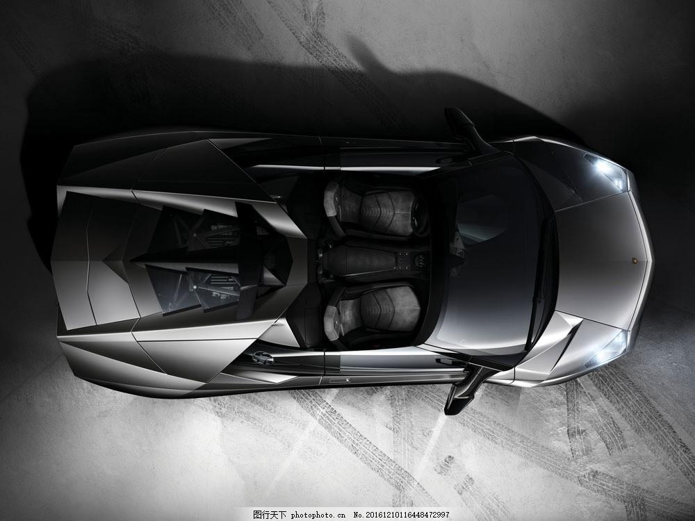跑车俯视图图片