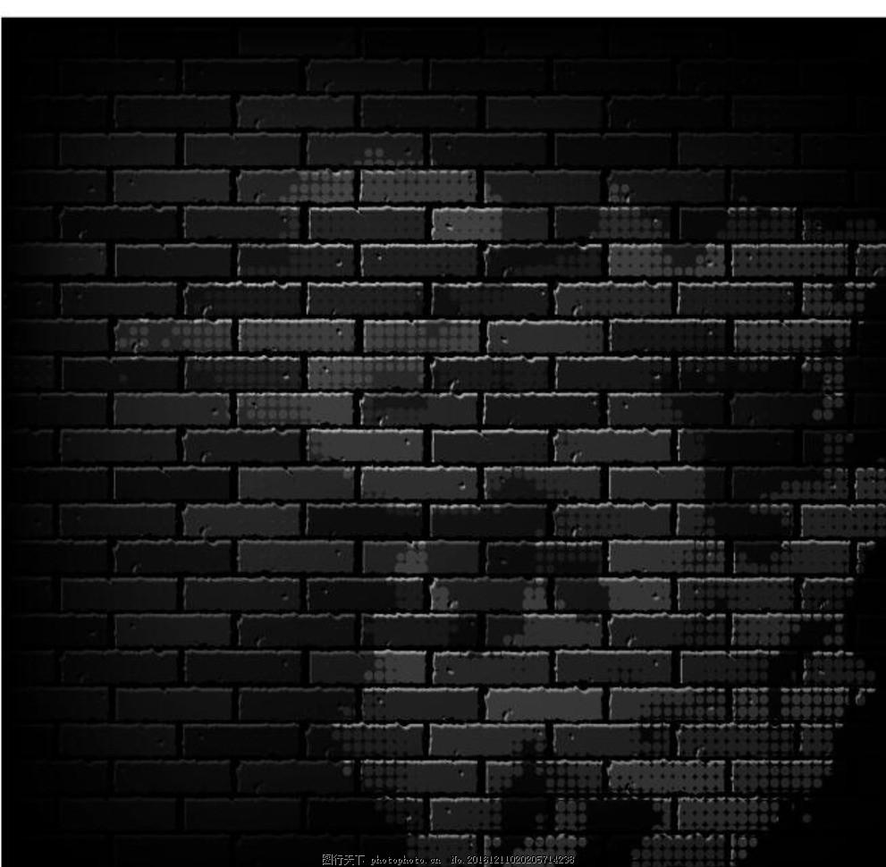 墙砖矢量素材 墙砖 矢量素材 矢量 素材 墙砖背景 海报背景 手绘墙砖