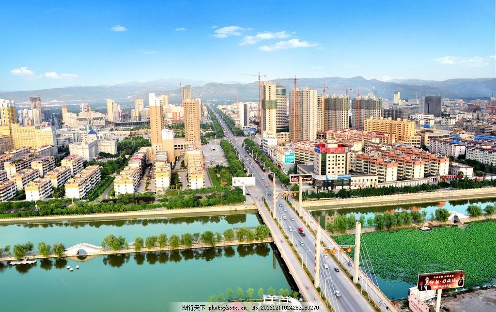 风光无限 灵宝市风景 城市建设 园林 桥梁 湖水 摄影 自然景观 建筑