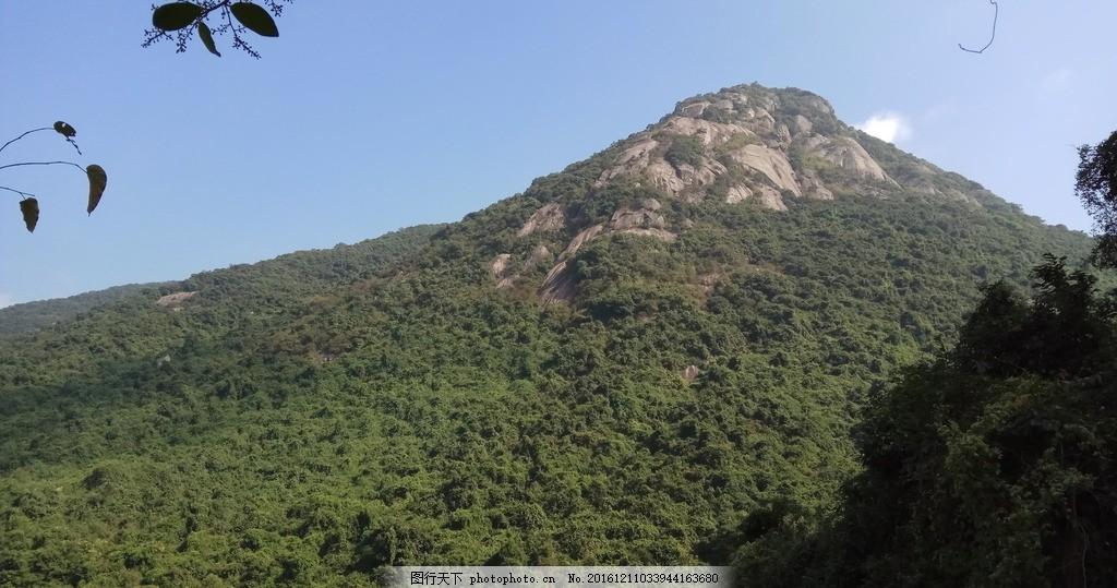 园山鹅公髻 园山 鹅公髻 园山风景区 爬山 横岗 旅游摄影 摄影 旅游