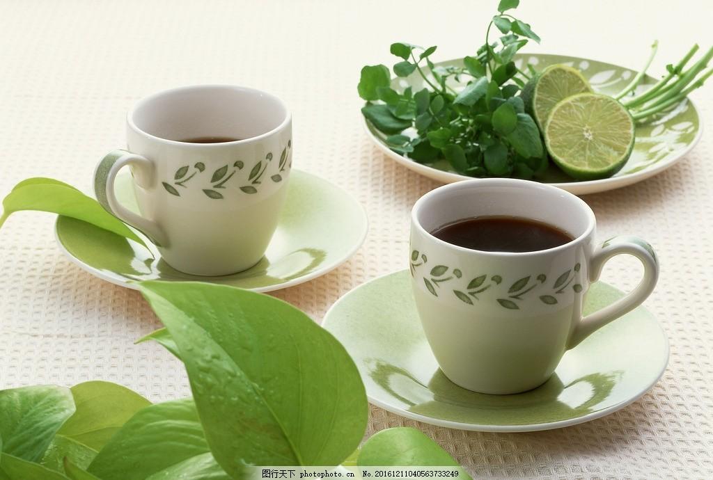 茶饮 茶水 红茶 下午茶 花茶 饮料 茶杯 咖啡杯 柠檬 餐饮