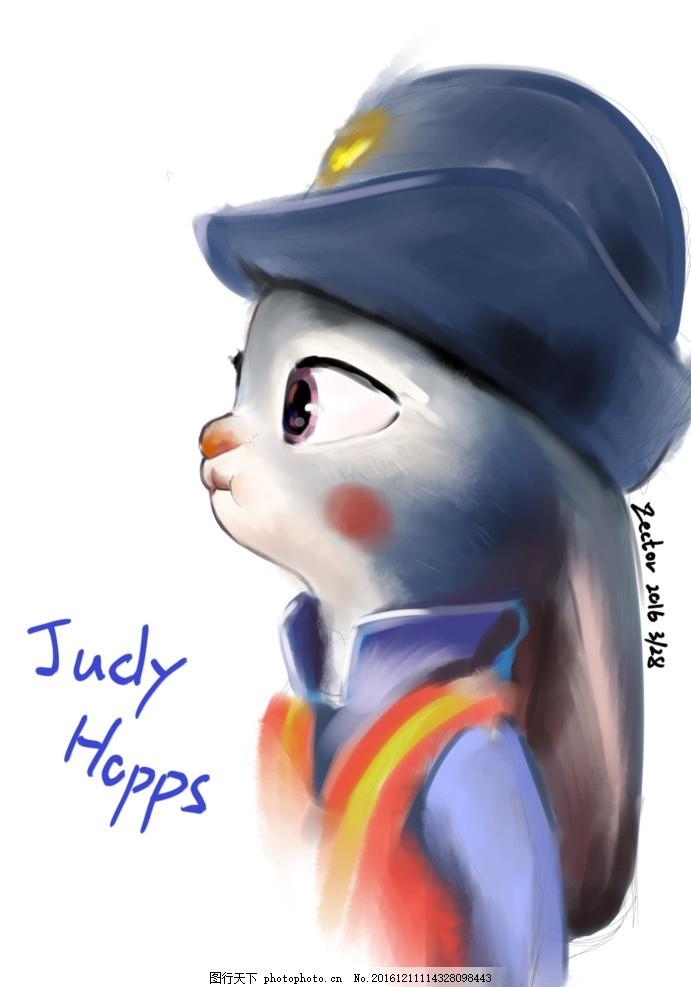 judyhopps 疯狂动物城 zootopia 朱迪兔 动物乌托邦 设计 动漫动画